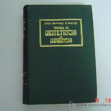 Libros antiguos: TRATADO DE OBSTETRICIA DE URGENCIA -DRES- BERKLEY & BONNEY AÑO 1917 BARCELONA 886 PAG 296 GRABADOS. Lote 24219927