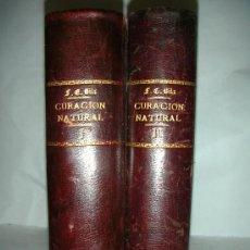 Libros antiguos: CURACION NATURAL, BILZ, 2 TOMOS . Lote 26618581