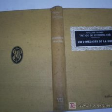 Libros antiguos: TRATADO DE ESTOMATOLOGÍA VII ENFERMEDADES DE LA BOCA GAILLARD Y NOGUÉ PUBUL 1928 RM44146. Lote 23349517