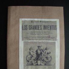 Libros antiguos: 1870C.-FALSIFICACIÓN DE ARTÍCULOS ALIMENTICIOS Y DE USO COMÚN.GRANDES INVENTOS. 20 GRABADOS.ORIGINAL. Lote 25741160