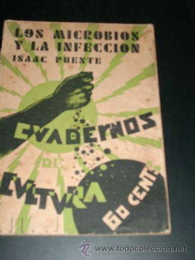 LOS MICROBIOS Y LA INFECCION, POR ISAAC PUENTE - CUADERNOS DE CULTURA - ESPAÑA - 1931 - RARO! (Libros Antiguos, Raros y Curiosos - Ciencias, Manuales y Oficios - Medicina, Farmacia y Salud)