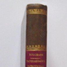 Libros antiguos: TERAPEUTICA DE LAS ENFERMEDADES INFECCIOSAS - CH. BOUCHARD - AÑO 1891 - EDITORIAL BAILLY-BAILLIERE. Lote 26777462
