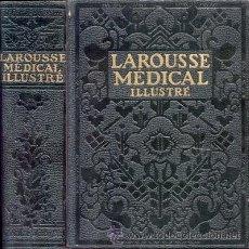 Libros antiguos: LAROUSSE MÉDICAL ILLUSTRÉ – AÑO 1924. Lote 26599177