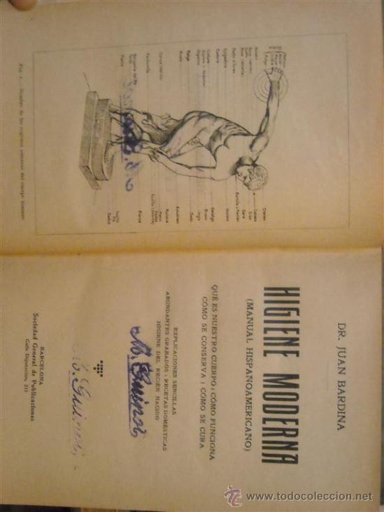 Libros antiguos: LA HIGIENE MODERNA - Foto 2 - 26737914