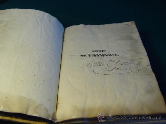 Libros antiguos: ELEMENTOS DE PIRETOLOGIA. TRATADO DE FIEBRES ESENCIALES - ZARAGOZA -1843. MEDICINA. - Foto 3 - 26365385