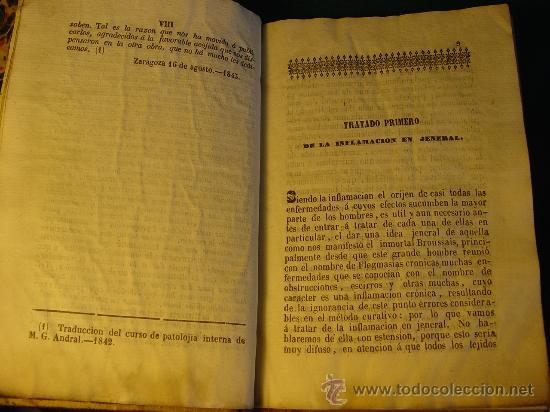 Libros antiguos: ELEMENTOS DE PIRETOLOGIA. TRATADO DE FIEBRES ESENCIALES - ZARAGOZA -1843. MEDICINA. - Foto 6 - 26365385