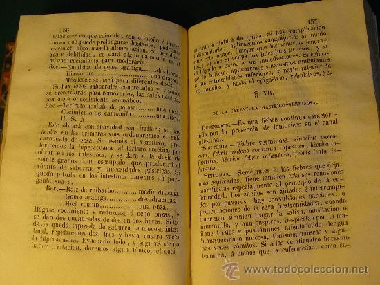 Libros antiguos: ELEMENTOS DE PIRETOLOGIA. TRATADO DE FIEBRES ESENCIALES - ZARAGOZA -1843. MEDICINA. - Foto 8 - 26365385