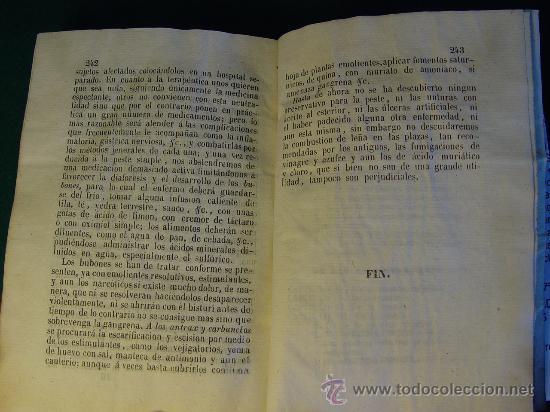 Libros antiguos: ELEMENTOS DE PIRETOLOGIA. TRATADO DE FIEBRES ESENCIALES - ZARAGOZA -1843. MEDICINA. - Foto 9 - 26365385