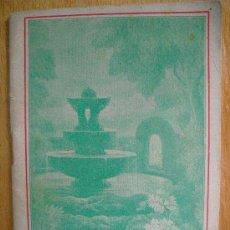 Libros antiguos: MANUAL DE HOMEOPATIA. Lote 22648698