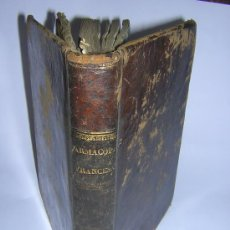 Libros antiguos: 1840 - MANUEL JIMENEZ - CODIGO DE MEDICAMENTOS Ó FARMACOPEA FRANCESA. Lote 26380996