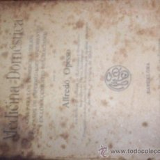 Libros antiguos: MEDICINA DOMESTICA - MANUALES SOLER XLIV. Lote 24915040