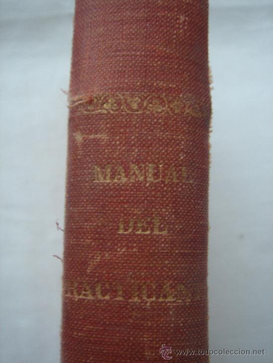 Libros antiguos: DETALLE DEL GROSOR DEL LIBRO - Foto 5 - 26421315