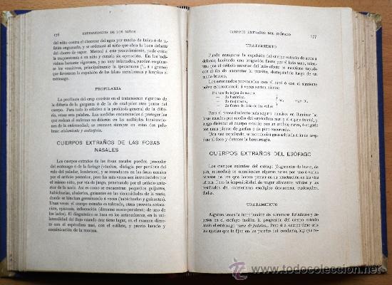 Libros antiguos: TERAPÉUTICA Y PROFILAXIA DE LAS ENFERMEDADES DE LOS NIÑOS - DR. JULIO COMBY - ESPASA Y COMPAÑÍA 1894 - Foto 3 - 26803862