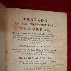Libros antiguos: LIBRO ANTIGUO. 1791. TRATADO DE LAS ENFERMEDADES VENEREAS. JEAN ASTRUC. MEDICINA. . Lote 26325373