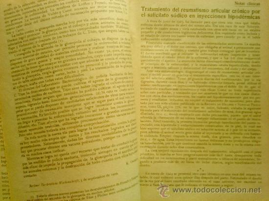 Libros antiguos: REVISTA DE HIGIENE. 2 TOMOS. AÑOS 1925 Y 1926. - Foto 3 - 27576380