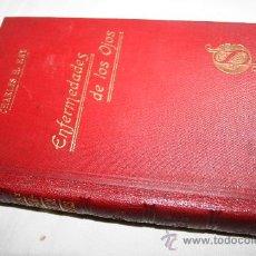 Libros antiguos: 1430- BONITO LIBRO' ENFERMEDADES DE LOS OJOS', POR CHALES H.MAY AÑO 1910. Lote 28452058