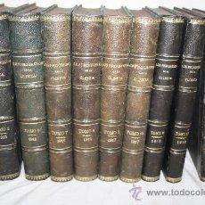 Libros antiguos: 1665- INTERESANTE COLECCIÓN ' LOS PROGRESOS DE LA CLÍNICA', DEL AÑO 1915 AL 1919. Lote 28530668