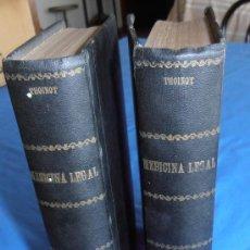 Libros antiguos: TRATADO DE MEDICINA LEGAL, POR THOINOT. Lote 28543678