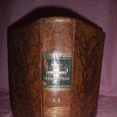 Libros antiguos: COMENTARIOS TERAPEUTICOS DEL CODEX MEDICAMENTARIUS - A.GUBLER - AÑO 1877.. Lote 28588420