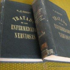Libros antiguos: TRATADO DE LAS ENFERMEDADES NERVIOSAS - DR. H. OPPENHEIM - (2 TOMOS) - SEIX EDITOR, BARCELONA, 1901. Lote 28862021