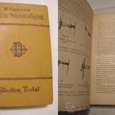 Libros antiguos: PRÉCIS DES OPÉRATIONS D'URGENCE. GANGOLPHE M.. OCTAVE DOIN. PARIS. 1901.. Lote 3462501
