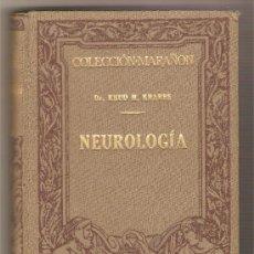 Libros antiguos: NEUROLOGÍA .- DR. KNUD R. KRABBE. Lote 29317198