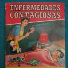 Libros antiguos: ENFERMEDADES CONTAGIOSAS. Lote 29631112