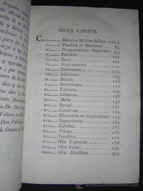 Libros antiguos: 1817 - PHARMACOPOEA HISPANA - EDITIO QUARTA - Foto 4 - 29636731