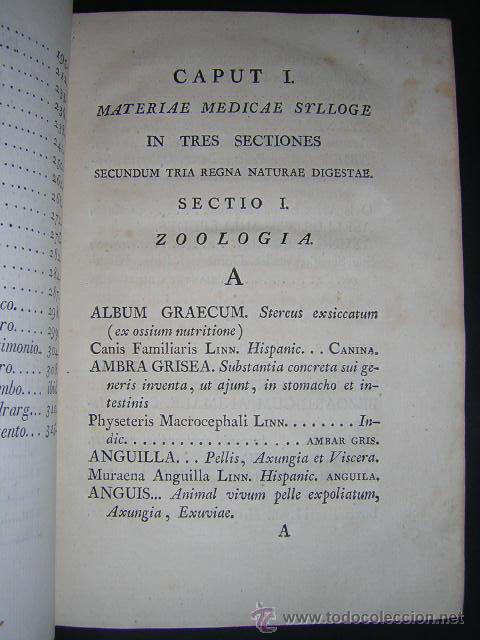 Libros antiguos: 1817 - PHARMACOPOEA HISPANA - EDITIO QUARTA - Foto 5 - 29636731
