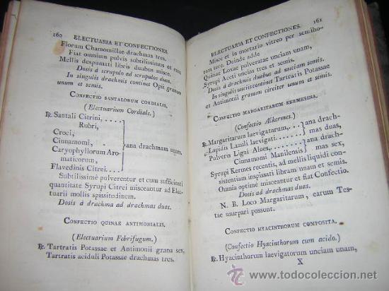 Libros antiguos: 1817 - PHARMACOPOEA HISPANA - EDITIO QUARTA - Foto 6 - 29636731
