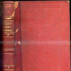 Libros antiguos: THOMAS : MALADIES DES FEMMES (1879) ILUSTRADO CON 301 FIGURAS - EN FRANCÉS. Lote 30694558