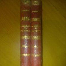 Libros antiguos: TRATADO ENFERMEDADES DE LOS NIÑOS 1891 DR. ADOLFO BAGINSKY DOS TOMOS. Lote 30741113