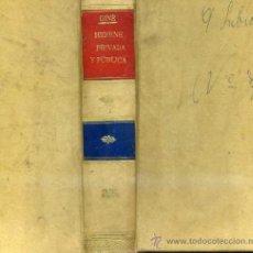 Libros antiguos: GINÉ Y PARTAGÁS : HIGIENE PRIVADA Y PÚBLICA (1874 / 1876). Lote 30744049