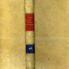 Libros antiguos: BOUCHARD : AUTO-INTOXICATIONS (1887) EN FRANCÉS. Lote 30745584