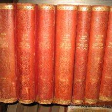 Libros antiguos: TRATAMIENTO DE TERAPEUTICA ALBERTO ROBIN 8 TOMOS 1910? ESPASA-CALPE. Lote 30895429