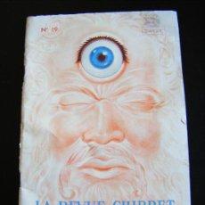 Libros antiguos: LA REVUE CHIBRET. ETUDES SUR LA BIOCHIMIE DU CRISTALLIN. Nº 19. 64 PÁGES.. Lote 31718584