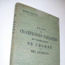 Libros antiguos: ATLAS DE CHAMPIGNONS PARASITESET PATHOGÉNES DE L´HOMME ET DES ANIMAUX-1909-HENRI COUPIN. Lote 32074938