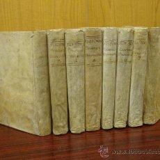 Libros antiguos: PRACTICA UNIVERSAL FORENSE DE LOS TRIBUNALES DE ESPAÑA Y DE LAS INDIAS: 8 TOMOS 1783 Y 1788. Lote 32158454
