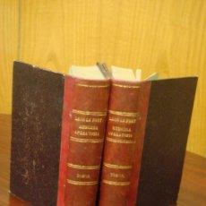 Libros antiguos: MANUAL DE MEDICINA OPERATORIA. 1887, 2 TOMOS: OPERACIONES GENERALES Y ESPEDIALES . Lote 32494766