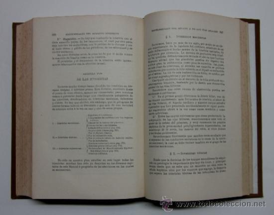 Libros antiguos: MANUAL DE PATOLOGIA INTERNA - 2 TOMOS - Foto 4 - 32568036
