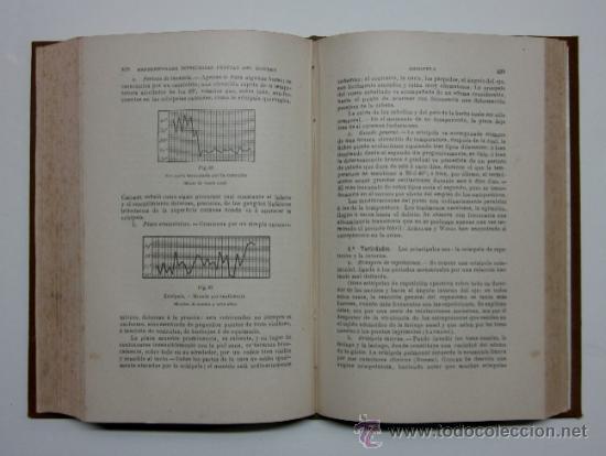 Libros antiguos: MANUAL DE PATOLOGIA INTERNA - 2 TOMOS - Foto 6 - 32568036