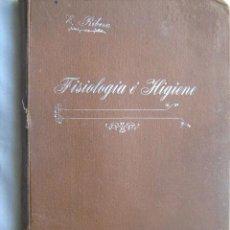 Libros antiguos: NOCIONES DE ANATOMÍA Y FISIOLOGÍA/ NOCIONES DE HIGIENE PRIVADA Y SOCIAL. RIBERA GÓMEZ, EMILIO. 1912. Lote 32738328