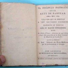 Libros antiguos: EL DISCIPULO INSTRUIDO EN EL ARTE DE PARTEAR. PEDRO VIDART. IMPRENTA REAL. MADRID, MDCCLXXXV. 1785.. Lote 32851332