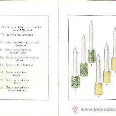 Libros antiguos: INSTITUT PASTEUR. INSTRUCTIONS DES SÉRUMS ET VACCINS. PARÍS 1929.. Lote 32982328