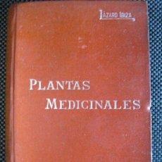 Libros antiguos: PLANTAS MEDICINALES. LÁZARO IBIZA, BLAS. Lote 33071084