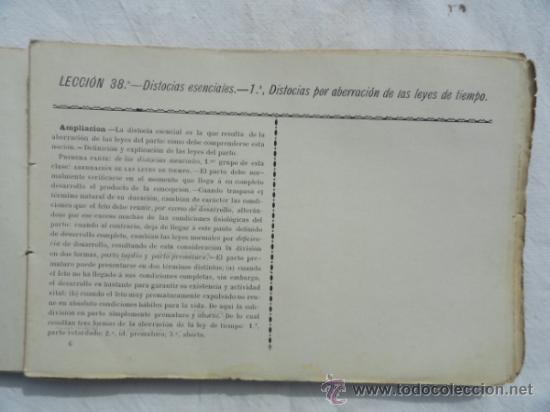 Libros antiguos: PROGRAMA-CARNET DE OBSTETRICIA Y GINECOLOGIA. CURSO DE 1889 a 1890.. - Foto 2 - 33105892