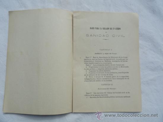 Libros antiguos: ASAMBLEA DE MEDICOS TITULARES DE 1902. - Foto 2 - 33105944