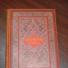 Libros antiguos: QUIMICA CLINICA, 1889, ANÁLISIS DE LA SANGRE, DE ORINA, PRODUCTOS MORBOSOS,ETC.,CHARLES HENRY RALFE. Lote 33115253