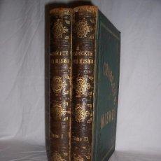 Libros antiguos: CONOCETE A TI MISMO, 2 TOMOS, TRATADO POPULAR DE FISIOLOGIA HUMANA,POR LUIS FIGUIER, BARCELONA-1881.. Lote 72736605