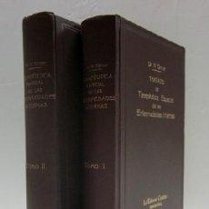 Libros antiguos: TRATADO DE TERAPEUTICA ESPECIAL DE LAS ENFERMEDADES INTERNAS - 2 TOMOS. Lote 33941099